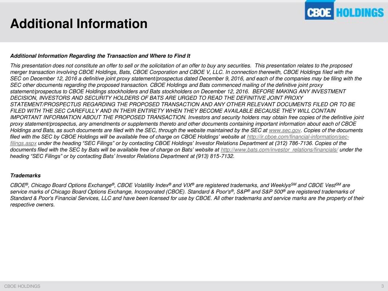 Cboe binary options sec filing