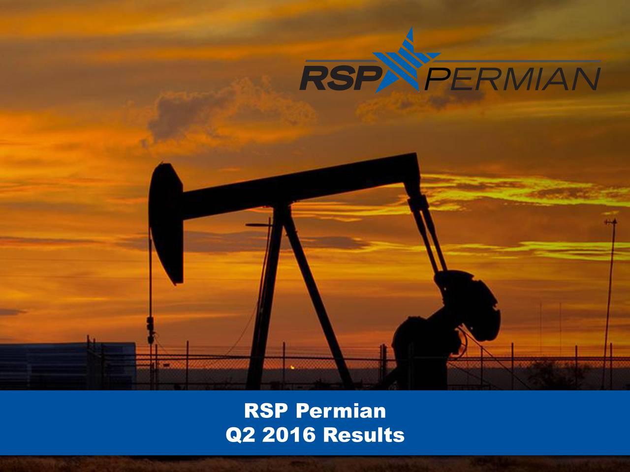 Q2 2016 Results