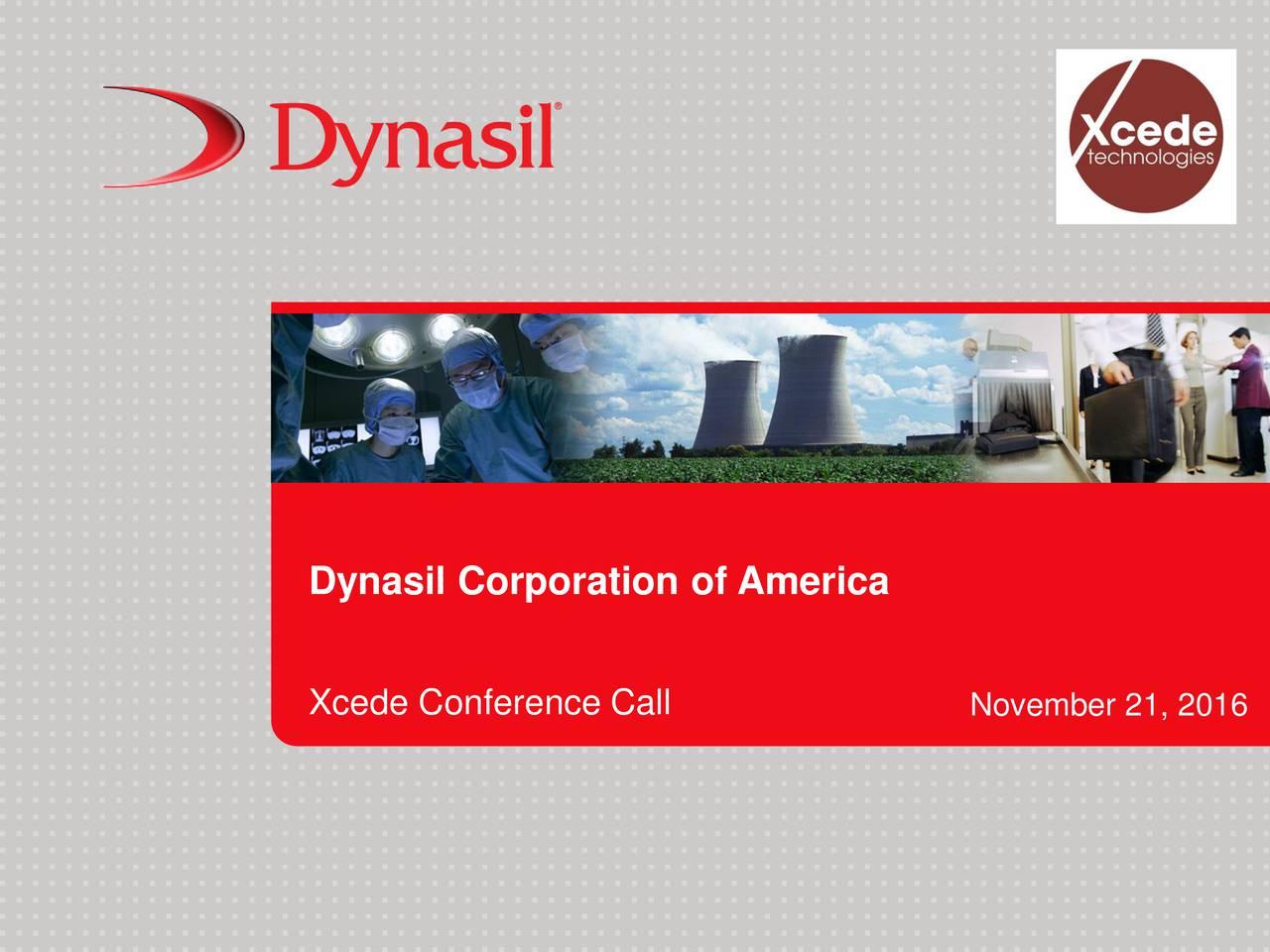 Xcede Conference Call November 21, 2016