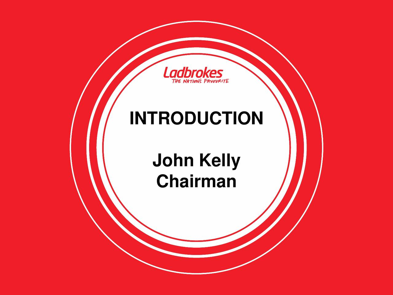 John Kelly Chairman